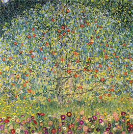 Image Photo Apple Tree Klimt | Photos and Images | Vintage