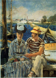 Image Photo Argenteuil Manet Impressionism | Photos and Images | Vintage