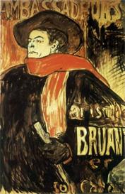 Image Photo Aristide Bruant Study Toulouse-Lautrec | Photos and Images | Vintage
