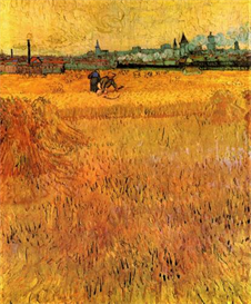 Image Photo Arles View from the Wheat Fields Van Gogh | Photos and Images | Vintage