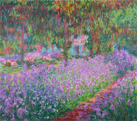 Image Photo Artists Garden Monet | Photos and Images | Vintage