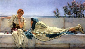 Image Photo Asking Alma-Tadema | Photos and Images | Vintage