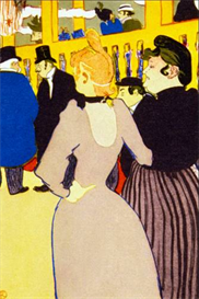 Image Photo At the Moulin Rouge Toulouse-Lautrec Impressionism | Photos and Images | Vintage