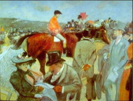 Image Photo At the Races Forain Impressionism | Photos and Images | Vintage