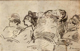 Image Photo At the Theater Manet | Photos and Images | Vintage