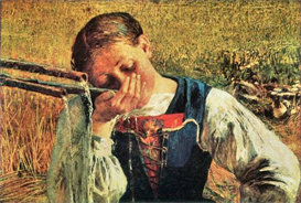 Image Photo At the well Giovanni Segantini Symbolism | Photos and Images | Vintage