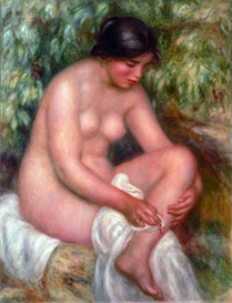Image Photo August Renoir Bathing | Photos and Images | Vintage