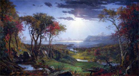Image Photo Autumn - On the Hudson River Jasper Francis Cropsey | Photos and Images | Vintage