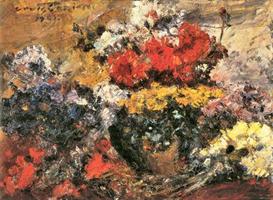 Image Photo Autumn Flowers Lovis Corinth Impressionism European | Photos and Images | Vintage