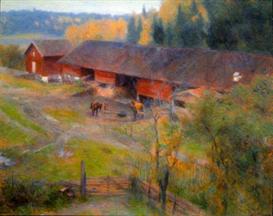 Image Photo Autumn Werenskjold Impressionism   Photos and Images   Vintage