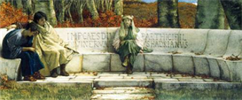 Image Photo Autumn, detail Alma-Tadema | Photos and Images | Vintage