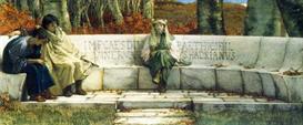 Image Photo Autumn, detail Alma-Tadema | Photos and Images | Vintage