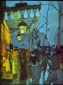 Image Photo Avenue De Clichy Anquetin Impressionism | Photos and Images | Vintage