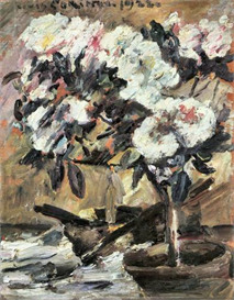 Image Photo Azaleas Lovis Corinth Impressionism European | Photos and Images | Vintage