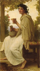 Image Photo Bacchante Bouguereau | Photos and Images | Vintage
