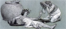 Image Photo Bacchus and Silenus Alma-Tadema | Photos and Images | Vintage