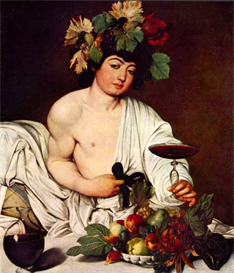 Image Photo Bacchus Caravaggio | Photos and Images | Vintage