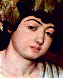 Image Photo Bacchus detail Caravaggio | Photos and Images | Vintage