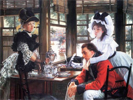 Image Photo Bad news (The separation) Tissot | Photos and Images | Vintage