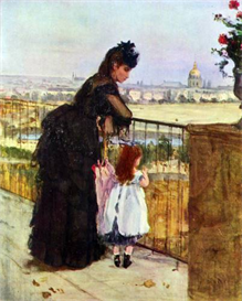 Image Photo Balcony Morisot | Photos and Images | Vintage
