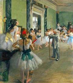 Image Photo Ballet Class Degas Impressionism | Photos and Images | Vintage