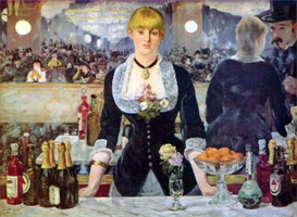 Image Photo Bar in the Folies-Bergere Manet | Photos and Images | Vintage