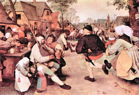 Image Photo Barn Dance Pieter Bruegel | Photos and Images | Vintage