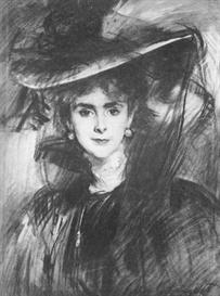 Image Photo Baroness de Meyer John Singer Sargent Impressionism American | Photos and Images | Vintage