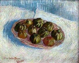 Image Photo Basket of apples  Van Gogh | Photos and Images | Vintage