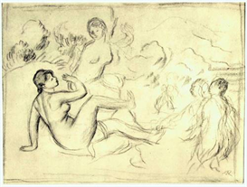 Image Photo Bather #2 Renoir | Photos and Images | Vintage