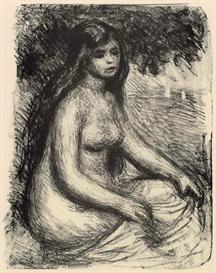 Image Photo Bather #3 Renoir | Photos and Images | Vintage