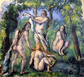 Image Photo Bathers 2 Cezanne | Photos and Images | Vintage