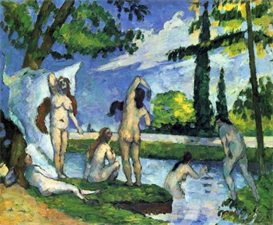Image Photo Bathers 4 Cezanne | Photos and Images | Vintage