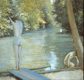 Image Photo Bathers Cailiebotte Impressionism | Photos and Images | Vintage