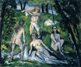 Image Photo Bathers Cezanne | Photos and Images | Vintage