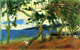 Image Photo Beach Scene 2 Gauguin | Photos and Images | Vintage