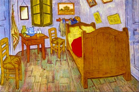 Image Photo Bedroom at Arles van Gogh Impressionism | Photos and Images | Vintage