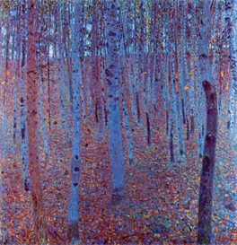 Image Photo Beech Forest Klimt | Photos and Images | Vintage