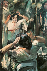 Image Photo Before the mirror Lovis Corinth Impressionism European | Photos and Images | Vintage