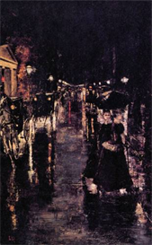 Image Photo Berlin, Leipziger Street Lesser Ury Impressionism European | Photos and Images | Vintage