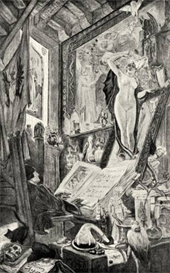Image Photo Bewitching Felicien Rops Symbolism | Photos and Images | Vintage