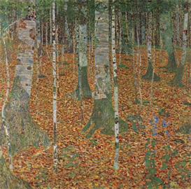 Image Photo Birch Forest Klimt | Photos and Images | Vintage