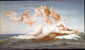 Image Photo Birth of Venus Cabanel Impressionism | Photos and Images | Vintage