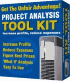 Project Analysis Toolkit | Software | Business | Other