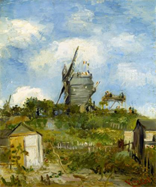 Image Photo Blut Fin Windmill  Van Gogh | Photos and Images | Vintage