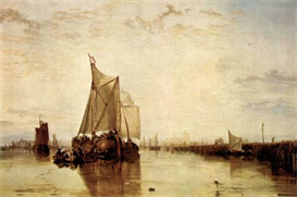 Image Photo Boat in Rotterdam Joseph Mallord Turner | Photos and Images | Vintage