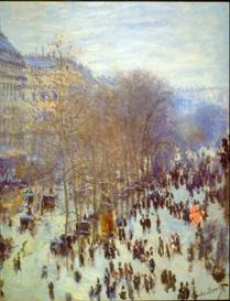 Image Photo Boulevard Capucines Monet Impressionism | Photos and Images | Vintage