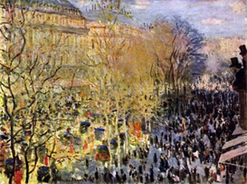 Image Photo Boulevard des Capucines in Paris Claude_Monet | Photos and Images | Vintage