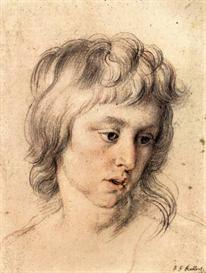 Image Photo Boys portrait Rubens | Photos and Images | Vintage