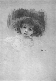 Image Photo Breast image of a child Klimt | Photos and Images | Vintage